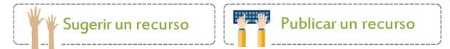 Sugerir o publicar un Recurso educativo digital juegos aplicaciones educativas