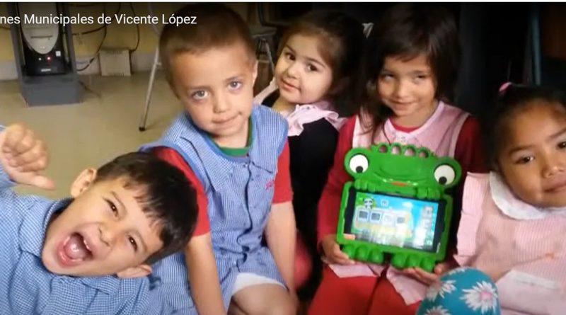 Uso de tablet en nivel inicial 2015. Prof. Lic. Rodrigues Cristina