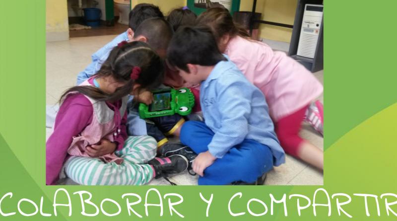 Uso de tablet en nivel inicial. Colaborar y compartir. Prof. Lic Rodrigues Cristina