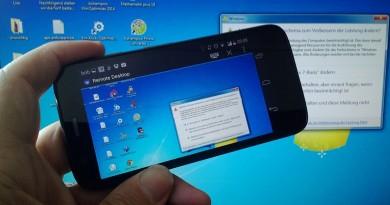TeamViewer: Proyectando la pantalla del celular o de la tablet