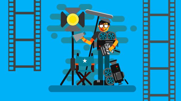 Los alumnos…productores de Video.