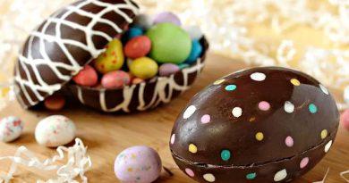Utilizando un algoritmo, decoramos Huevos de Pascua.