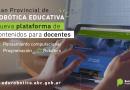 Nueva plataforma de robótica para docentes