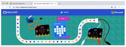 Programar la placa micro:bit con MakerCode (II)