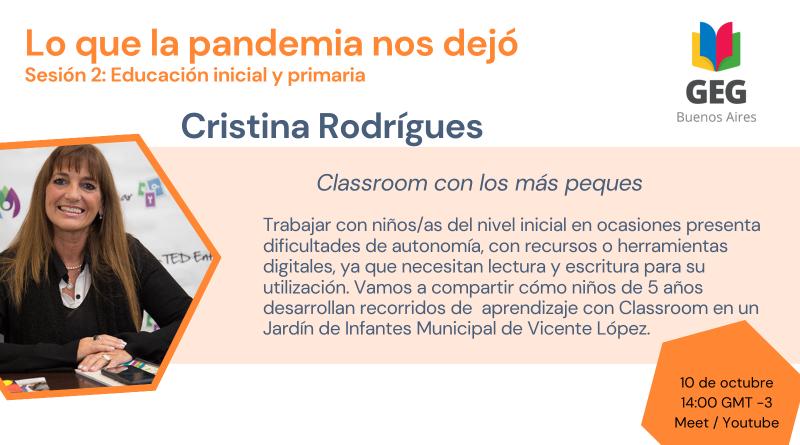 Congreso Google GEG. Cristina Rodrigues.