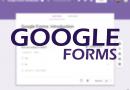 Configuración de formularios