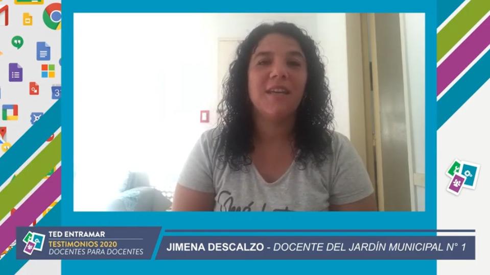 Jimena Descalzo, Jardín Municipal N°1