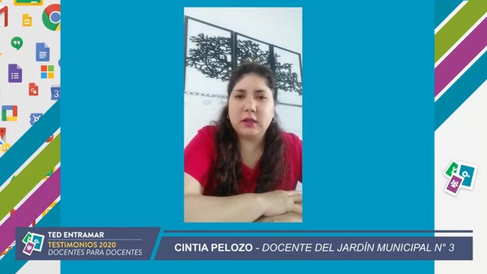 Cintia Pelozo, Jardín Municipal N° 3